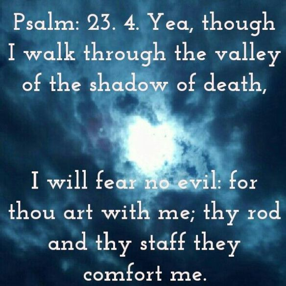 Psalm 23 4 shadow of death