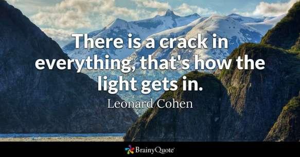 crack light quote